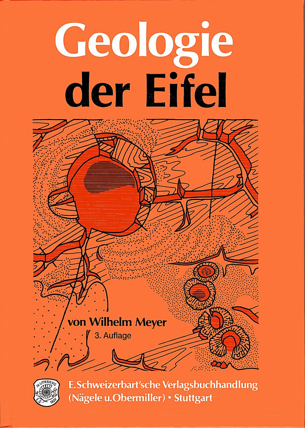 Geologie Der Eifel Schweizerbart Science Publishers