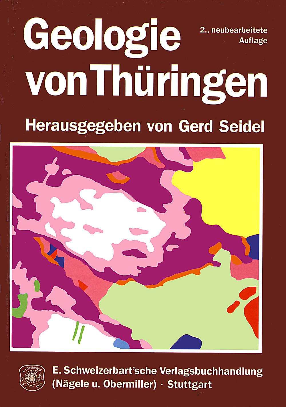 Geologische Karte Thüringen.Geologie Von Thüringen Schweizerbart Science Publishers